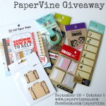 Giveaway from Papervine
