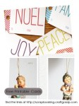 Freebies | Printable Gift Tags and Greeting Cards