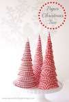 Tutorial | Paper Christmas Trees from Cupcake Liners