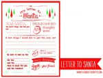 Freebie | Printable Fill-in-the-Blank Letter to Santa