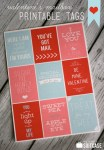 Freebie | Printable Valentine's Day Tags from My Sister's Suitcase