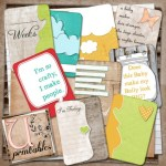 Freebie | Pregnancy Journaling Cards from U Printables