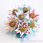 Tutorial | Lollipop Flowers for Easter from PaperVine