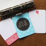 Project Life March printables from Wild Olive