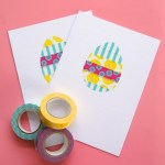 Tutorial | Washi Tape Easter Egg Card from Omiyage Blogs