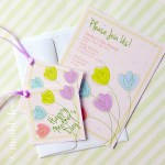 Freebie | Mother's Day Spring Party Printables from maddalee