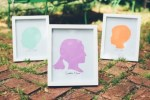 Mother's Day Gift Idea | Framed Kids' Silhouettes
