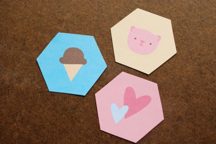 Free Printable Hexagon Designs from Wild Olive