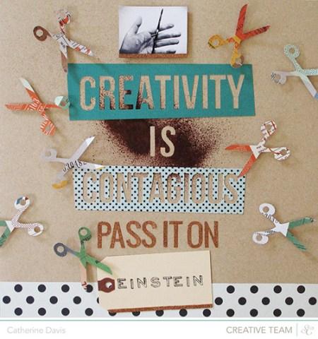 Freebie -Scissors Cut File from Catherine Davis & Studio Calico
