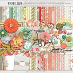 Freebie | Digital Scrapbooking Kit from Pixels & Co and Quality DigiScrap Freebies