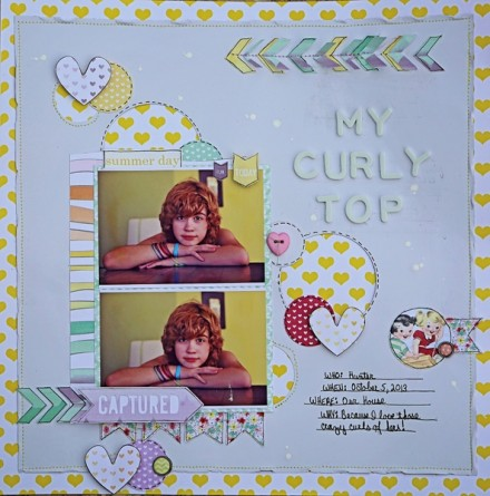 Inspiration du Jour - My Curly Top by krissyclarkmcgee