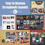 Inspiration | Year in Review Layouts