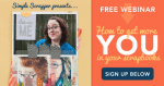 Free Webinar | More You in Your Scrapbooks