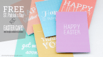 Freebie | Printable St. Patrick's Day & Easter Cards