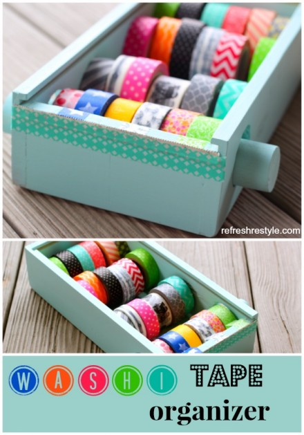 Tutorial - Washi Tape Dispenser from Refresh Style