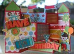 Show & Tell | Carnival Birthday Card