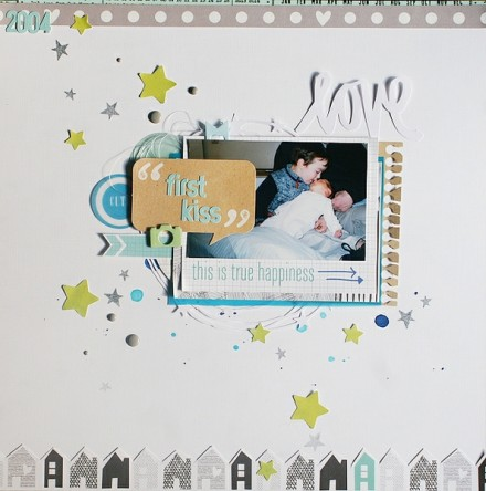 Inspiration du Jour - First Kiss by scissors_glue_paper