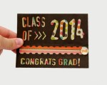 Tutorial | Interactive Zipper Pull Graduation Card