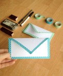 Tutorial | DIY Washi Tape Envelope