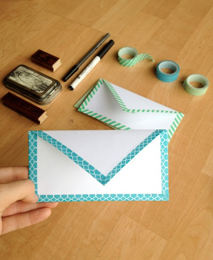 Tutorial - diy-envelope by key lime digital designs