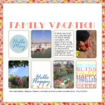 Family Vacation by Francine Clouden