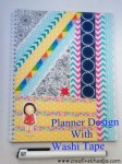 Tutorial | Washi Tape Planner Cover