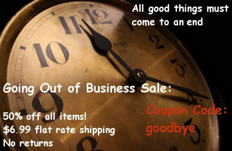 Closing Sale at Everything for Scrapbooks