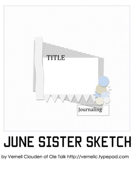 Craft Gossip Summer of Sketches 6 - Aug 1st