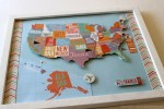 Show & Tell | USA Pin Map | Track Your Travels