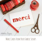 Tutorial | Quick Fabric Cards