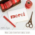 Tutorial | Quick Fabric Cards