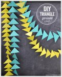 Tutorial | DIY Triangle Garland