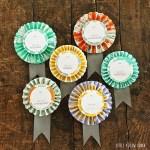 Fall Decor or Embellishment Idea | Paper Brooches