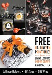 Free Halloween Printables | Stickers, Gift Wrap & More