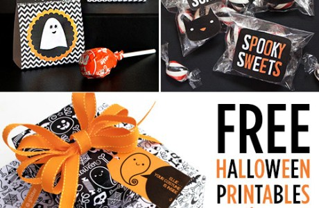 free-halloween-printables from Paper Crave