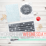 Tutorial|Create Unique Journal Cards Using Silhouette Studio®