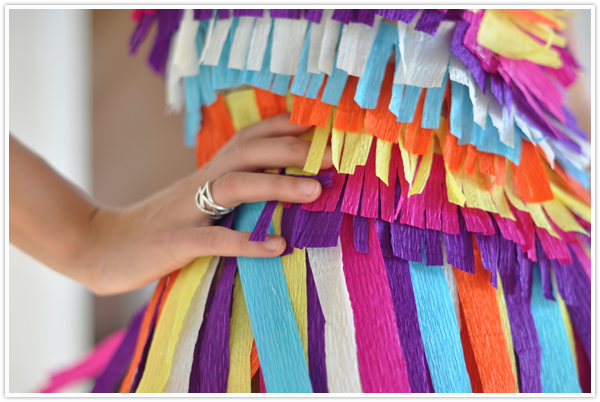 pinata costume from Camille Styles