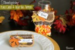 Paper Craft Tutorial | Place Card & Treat Bag DIY for Thanksgiving