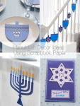 Easy and Stylish Hanukkah Ideas using Paper