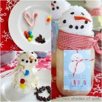 Freebie| Build an Ice Cream Snowman From A Jar