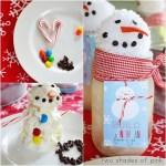 Freebie| Build an Ice Cream Snowman From A Jar