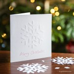 Tutorial | Hand Embossed Snowflake Christmas Card