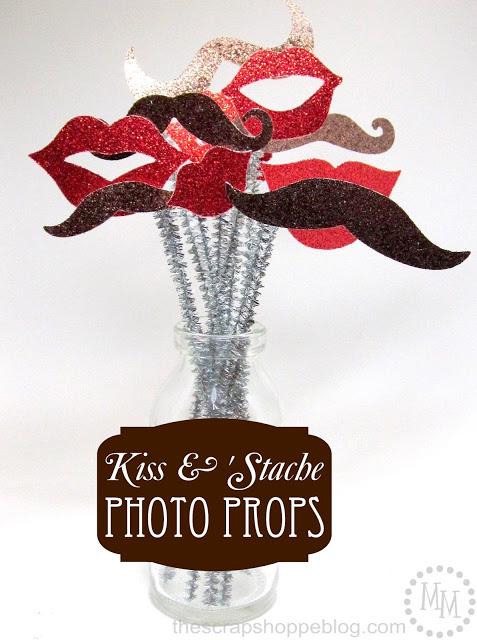 kiss photo props 1
