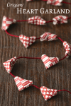 Tutorial | Origami Heart Garland