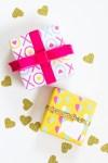 Freebie |  Printable Valentine's Day Gift Wrap