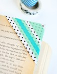 Tutorial | DIY Washi Tape Bookmarks