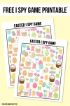 Freebie | Easter I Spy Printable