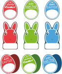 Freebie | Easter Packaging Labels