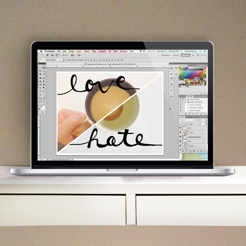 Tutorial - How to work with photoshop templates and brushes