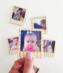 Tutorial | DIY Washi Tape Polaroid Photo Magnets